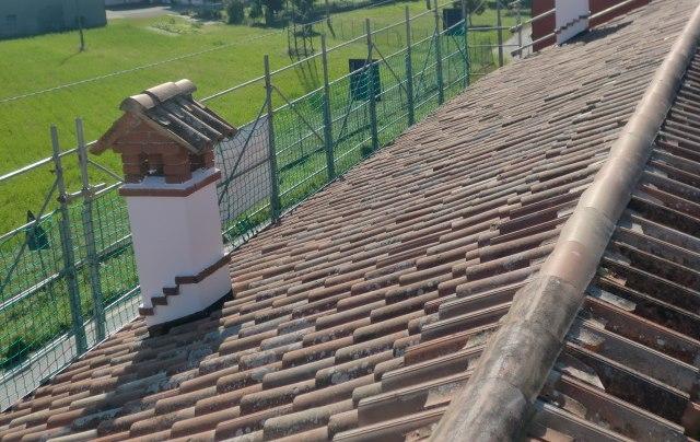 Sistemazione tetti